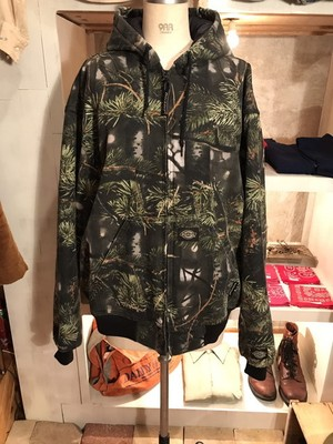 90's OLD Dickies  QUILTING CAMOUFLAGE BLOUSON