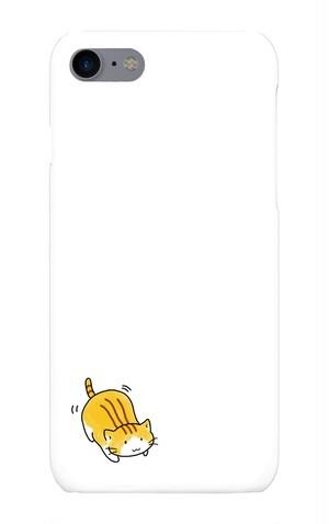 スマホケース 猫のお尻ふりふり(iPhone5, SE)