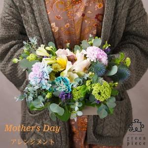 ~Thanks Mother's Day~ 生花 ボックスアレンジメント
