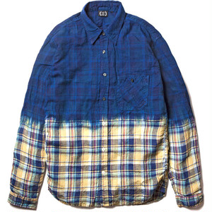L/S DYED CHECK SHIRTS