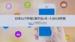 日米IoT市場に関するレポート2018年版