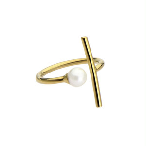 side pearl ring