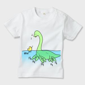 恐竜キッズTシャツ(フタバスズキリュウ)