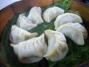 上海風蒸し餃子