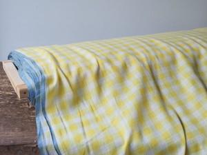 bengal fabric b23 yellow checked