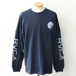 FRACTION LS TEE (NAVY)