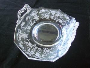 D28-095 エレガントガラス プレート