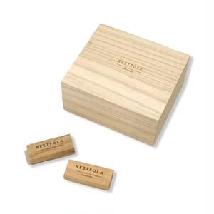 くすのき 防虫ブロック(カンフルツリー ブロック)24個入り