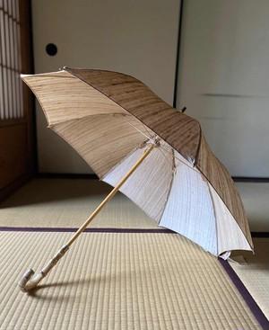 日傘(タッサーシルク)