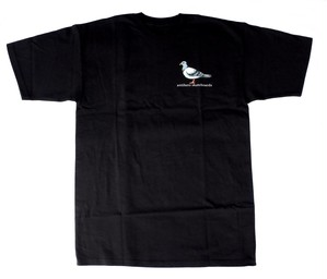 Antihero pigeon Tshirt black アンタイヒーロー Tシャツ
