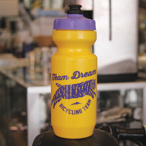 TEAM DREAM 22oz Chubby Bobcat Bottle / Yellow Purple