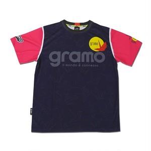 プラクティスシャツ「RISE」(ネイビー/P-036)