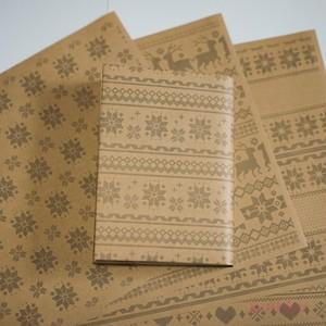 紙製ブックカバー ノルディック柄