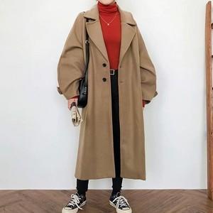 【アウター】定番トレンド ノーカラー 折り襟 長袖 ポケット コート レディース アウター33368137