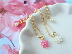 春小花のドール用プチネックレス