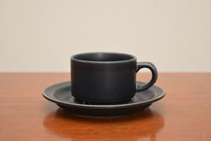 アラビアコルピ ①コーヒーカップ&ソーサー【ARABIA/Korpi】北欧 食器・雑貨 ヴィンテージ | ALKU
