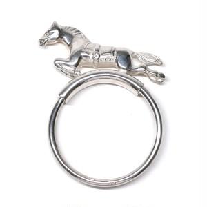 Hermès Vintage Horse Motif Key Ring