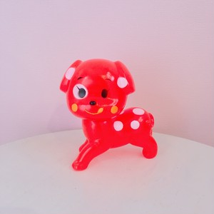 *再入荷【lapin&me × KODAMA】Little Cuties Red Dog 赤い犬