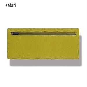 立てて使えるポーチ standing pouch 0921 safari