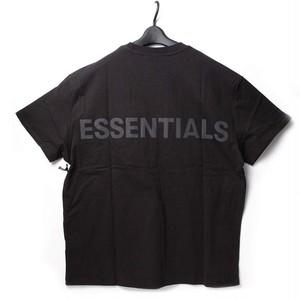 FOG Essentials エッセンシャルズ バックロゴTシャツ ブラック XS[全国送料無料] r015790