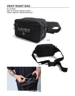 ELECTRIC/2WAY WAIST BAG