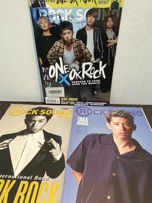 洋雑誌 ONE OK ROCKの表紙 3冊