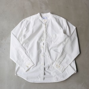 MANUAL ALPHABET / LOOSE FIT バンドカラーシャツ