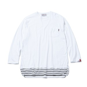 SWITCH BORDER LONG TEE / GS17-ACS07