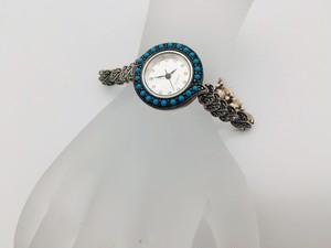 ターコイズ腕時計  【AC-12221-P】