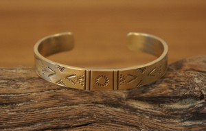 native brass bangle 4