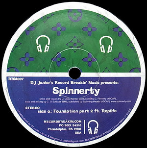 "【再入荷/7""】Spinnerty - Foundation pt. 2 / Time to cut"