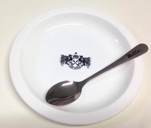 白い皿と銀の匙セット 大・中・小   ※大 完売御礼・中 在庫僅か