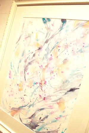 ◯ Dance of the Light ~ The Master Lao Tsu ~ { 水彩画 ART }