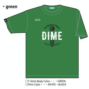 "TOKYO DIME オリジナルTシャツ ""HOOP"" GREEN"