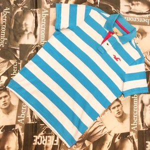 HOLLISTER MENS ポロシャツ Lサイズ