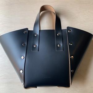 "Hender Scheme  ""assenble hand bag wide S"" black"