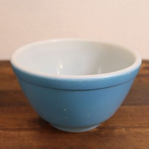 オールドパイレックス ミキシングボウル Primary Color -Blue