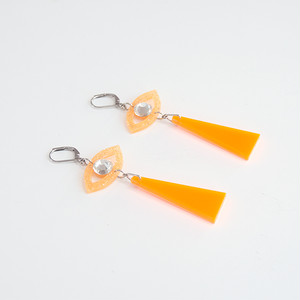 SHI★SEN pierces - orange -