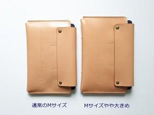 【色を選ぶセミオーダー】一緒に育つ母子手帳ケース B6版対応:Mサイズ やや大きめ