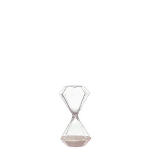 【GS555-389XS】Diamond hourglass XS #砂時計 #ガラス #シンプル #モダン