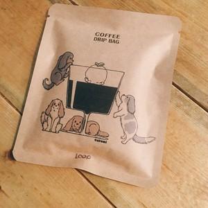 オリジナルドリップバッグコーヒーコーヒーゼリー柄