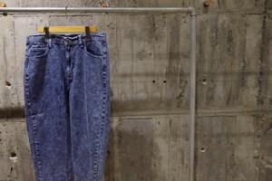 Remake chemicalwash denim pants