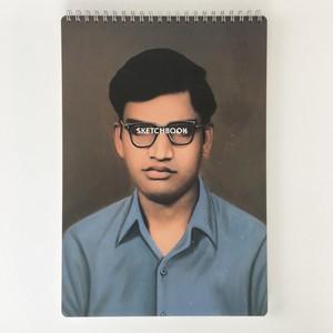 スケッチブック A3 ブルーシャツ|Sketchbook A3 Blue Shirt(PUEBCO)