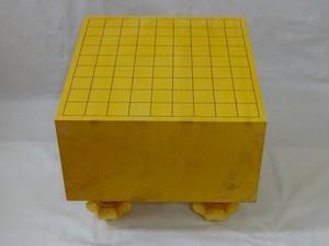 将棋盤 日本榧 柾目 5.9寸