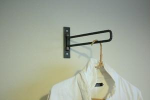 【可動式】 ちょい掛け / 壁掛け ハンガーラック | 傘立て | 棚受け |タオルハンガー