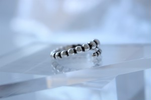#04.【  ORB  】×  chain ring × 925silver × free