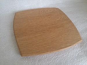 楢の木のパン皿