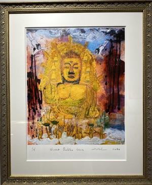 Great Buddha Nara ジクレー