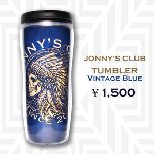 JONNY'S CLUB タンブラー<ヴィンテージブルー>