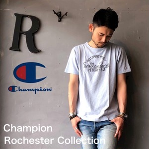 """Champion Rochester Collection """"PRINT T-SHIRT"""" LG.Blue"""